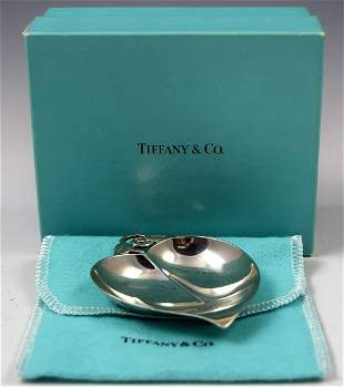 Tiffany & Co Sterling Silver Dish