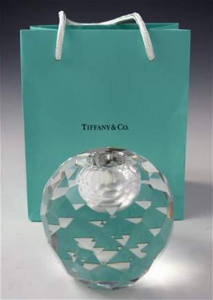 Tiffany & Co Crystal Candle Holder
