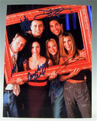 Friends Cast Signed Photograph