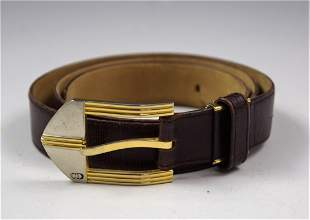 Vintage Dior Leather Belt