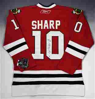 Patrick Sharp Autographed Jersey