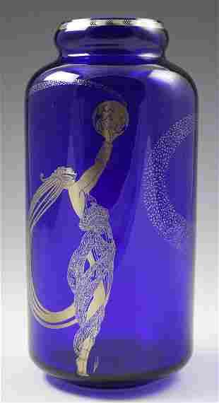 Erte Art Deco Vase