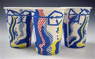 After Roy Lichtenstein Cups