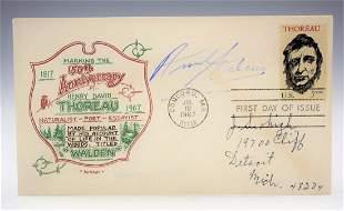 Ansel Adams Signed Envelope