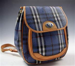 Vintage Burberry Backpack
