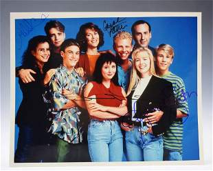 Beverly Hills 90210 Cast Signed Photograph