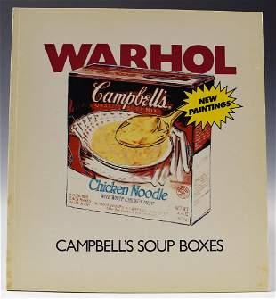 Andy Warhol Signed Catalog