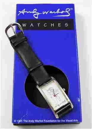 Vintage Andy Warhol Watch