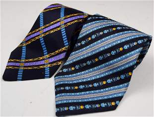 Vintage Versace Silk Ties