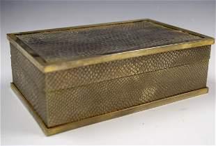 Vintage Cartier Silver Box