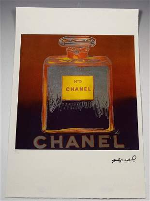 Andy Warhol Numbered Lithograph