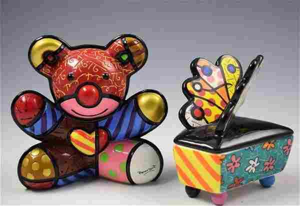 Romero Britto Sculptures