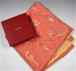 Cartier Silk Scarf/Shawl