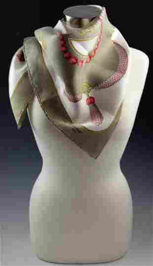 Vintage Cartier Silk Scarf