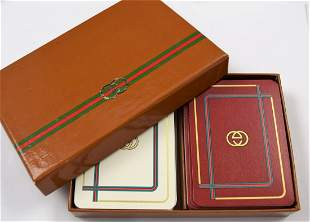 Vintage Gucci Playing Cards