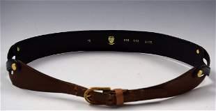 Vintage Gucci Leather Belt