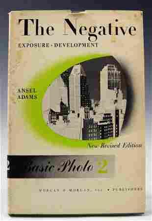 Ansel Adams Autographed Book