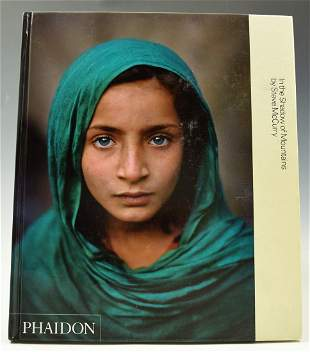 Steve McCurry Signed Book