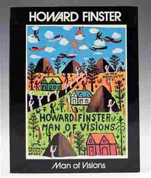Howard Finster Signed Book