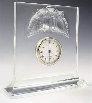 Lalique Clock