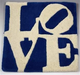 Robert Indiana Love Rug
