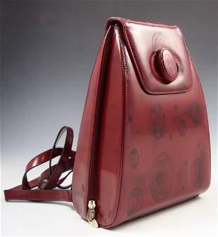 Vintage Cartier Leather Backpack