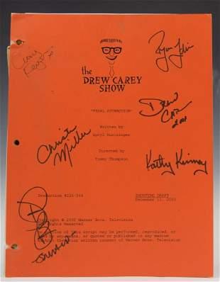 The Drew Carey Show Signed Script