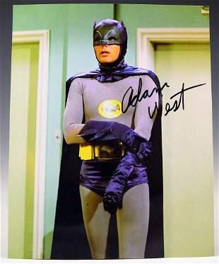 Adam West Signed Photograph