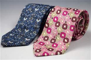 Emilio Pucci Silk Ties