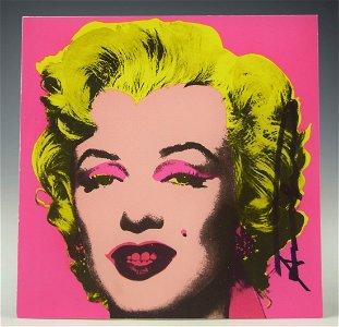 Andy Warhol, Marilyn (Castelli Mailer)