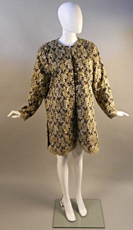 Vintage Oscar De La Renta Vintage Ladies Coat