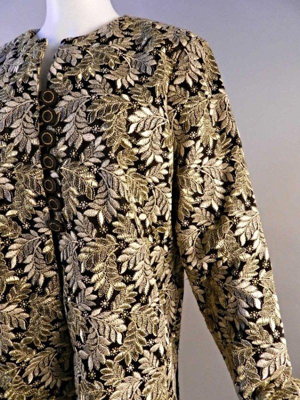 Vintage Oscar De La Renta Vintage Ladies Coat - 4