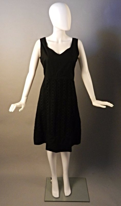 Oscar De La Renta Black Dress