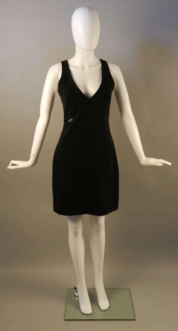 Vintage Versace Black Dress