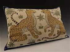 Vintage Hermes Silk Pillow