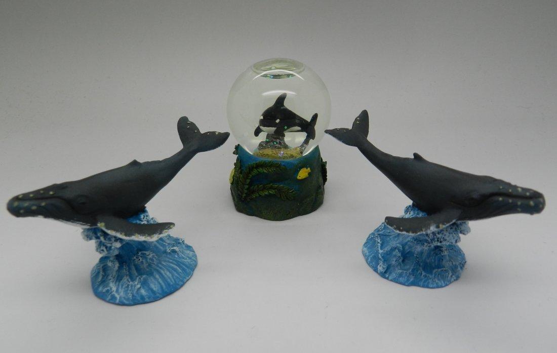 Robert Wyland Marine Sculptures