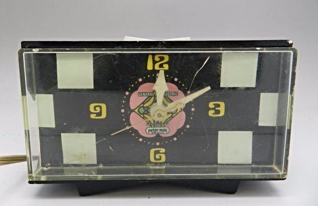 Peter Max General Electric Clock