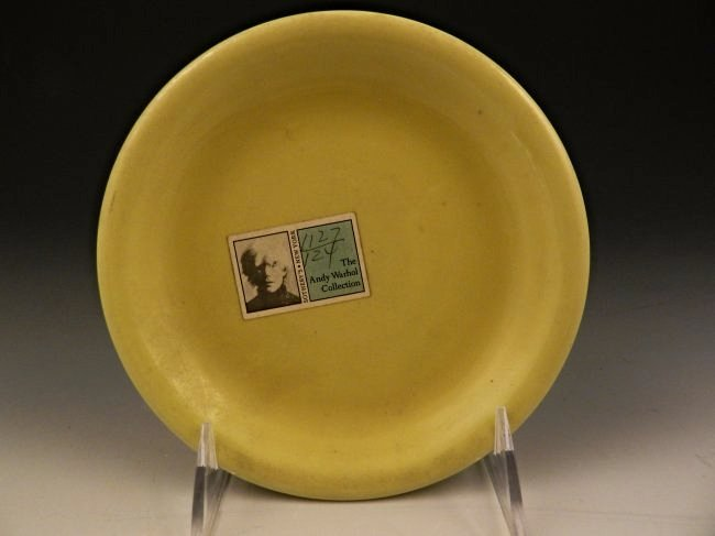 Andy Warhol Personal Owned Plate