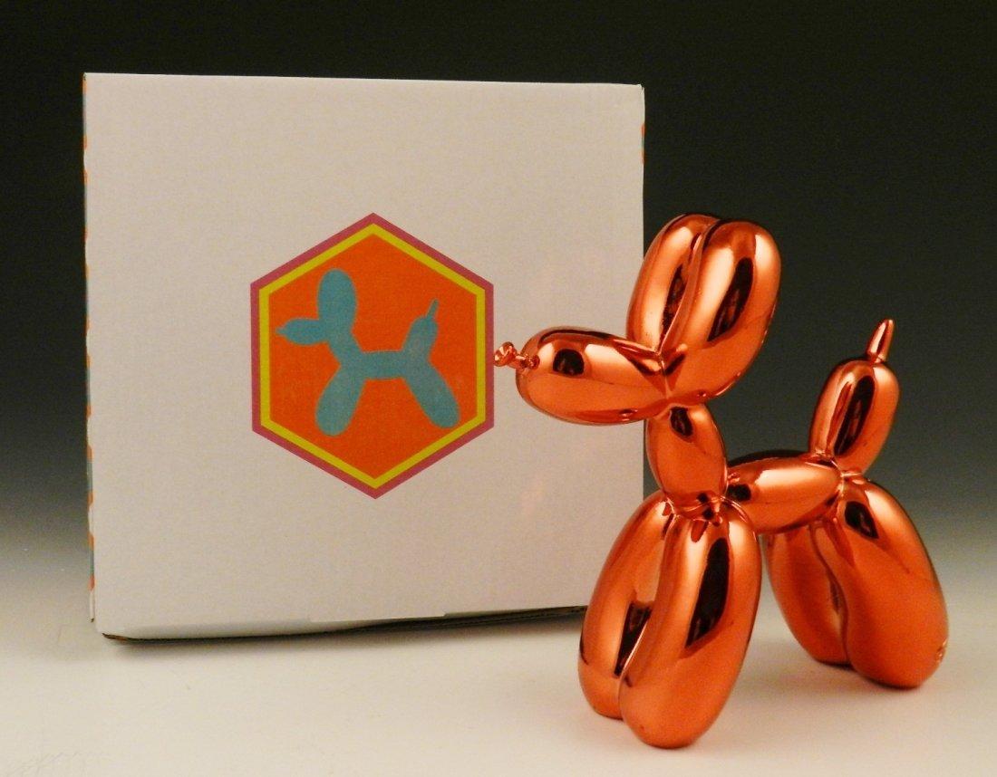 Red Balloon Dog Sculpture - 2