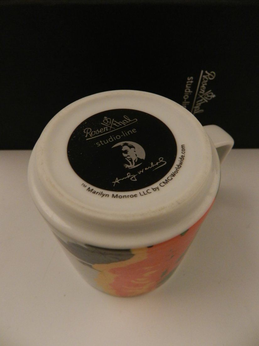 Andy Warhol Rosenthal Mugs, Marilyn Monroe - 4