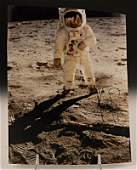 Neil Armstrong Signed Apollo Photograph