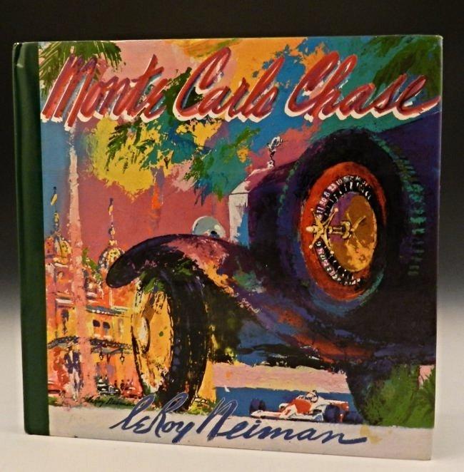 LeRoy Neiman Signed Book
