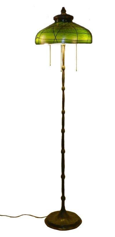 Tiffany Studios Glass Floor Lamp