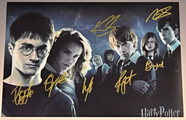 Harry Potter Cast Signed Photograph