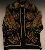 Vintage Hermes Silk Blouse