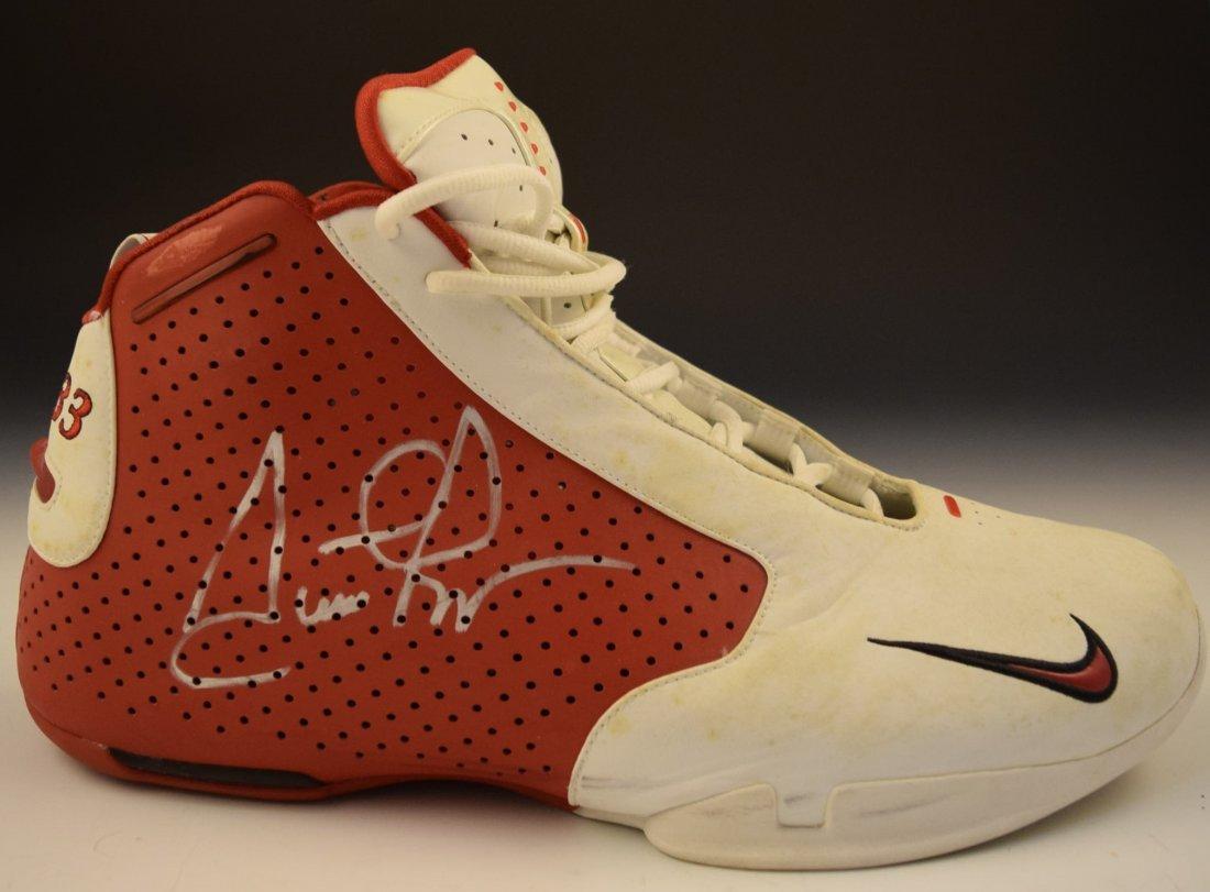 Scottie Pippen Signed Game Worn Shoe