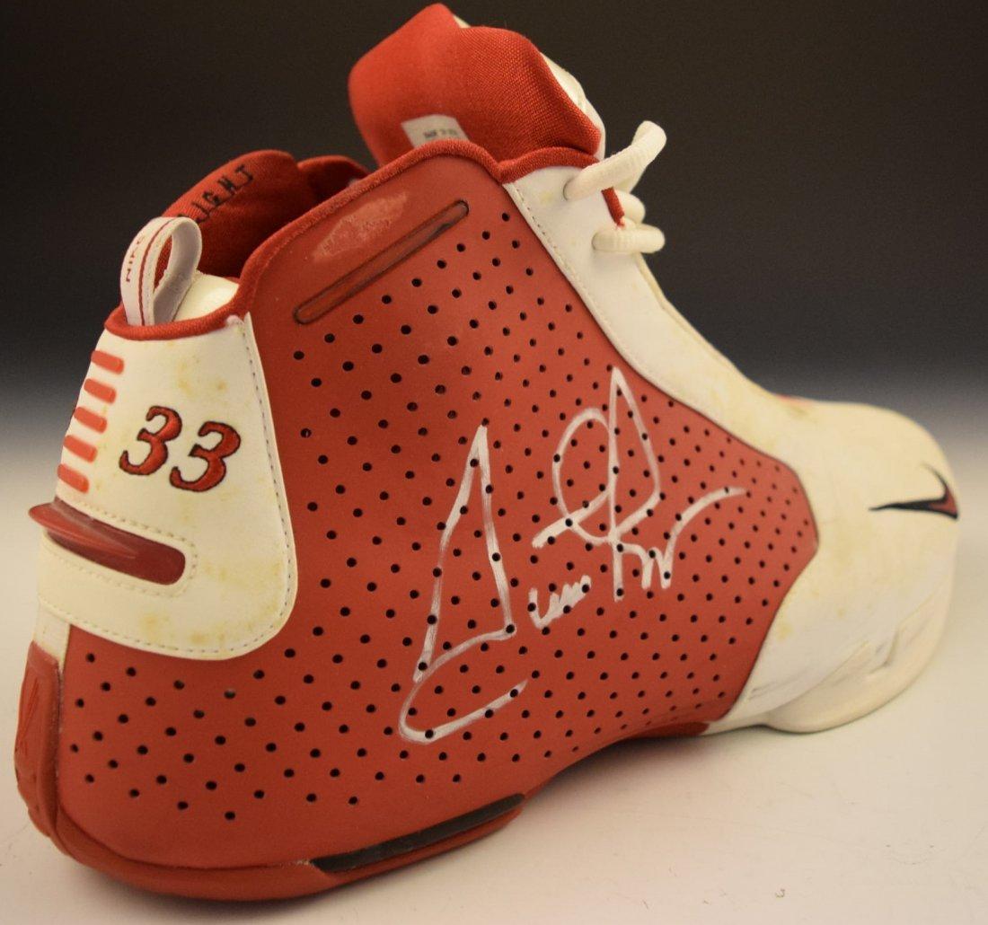 Scottie Pippen Signed Game Worn Shoe - 3