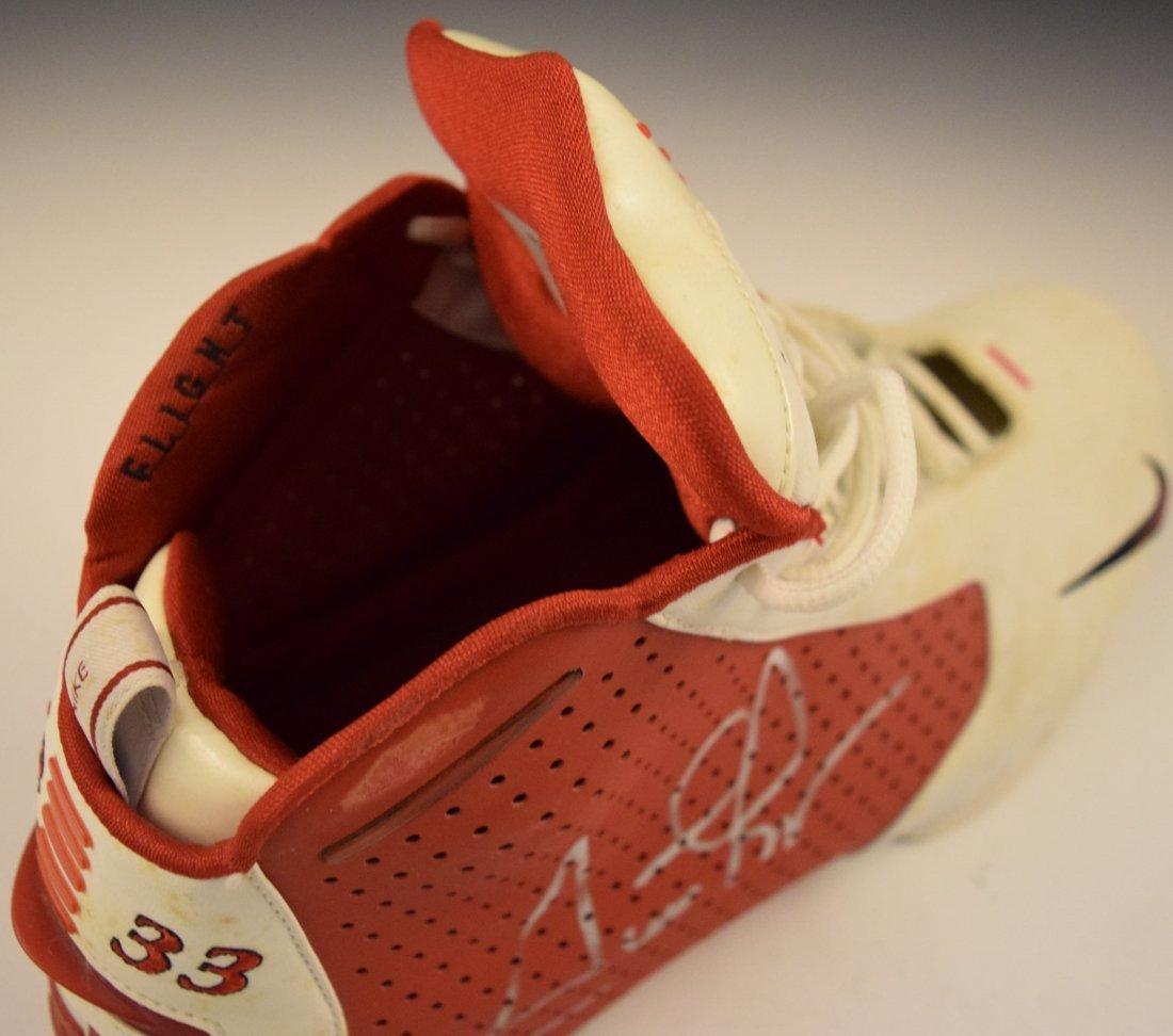 Scottie Pippen Signed Game Worn Shoe - 4