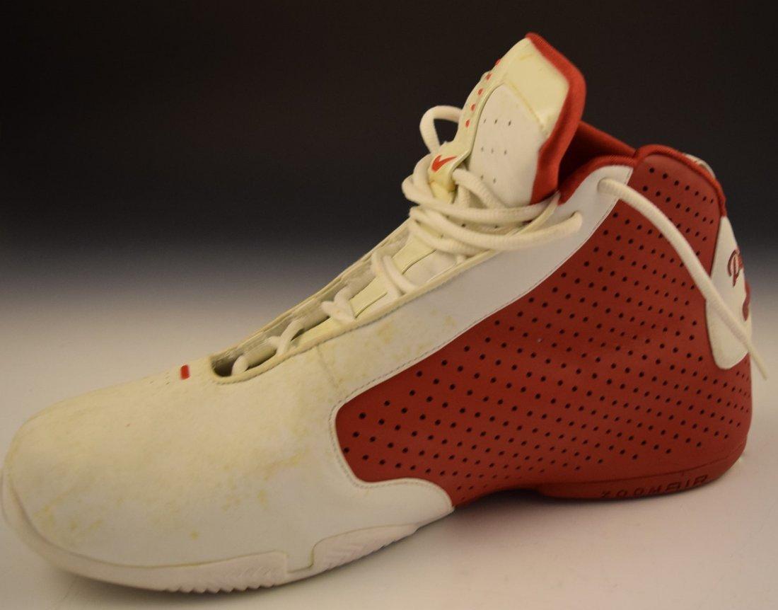 Scottie Pippen Signed Game Worn Shoe - 5