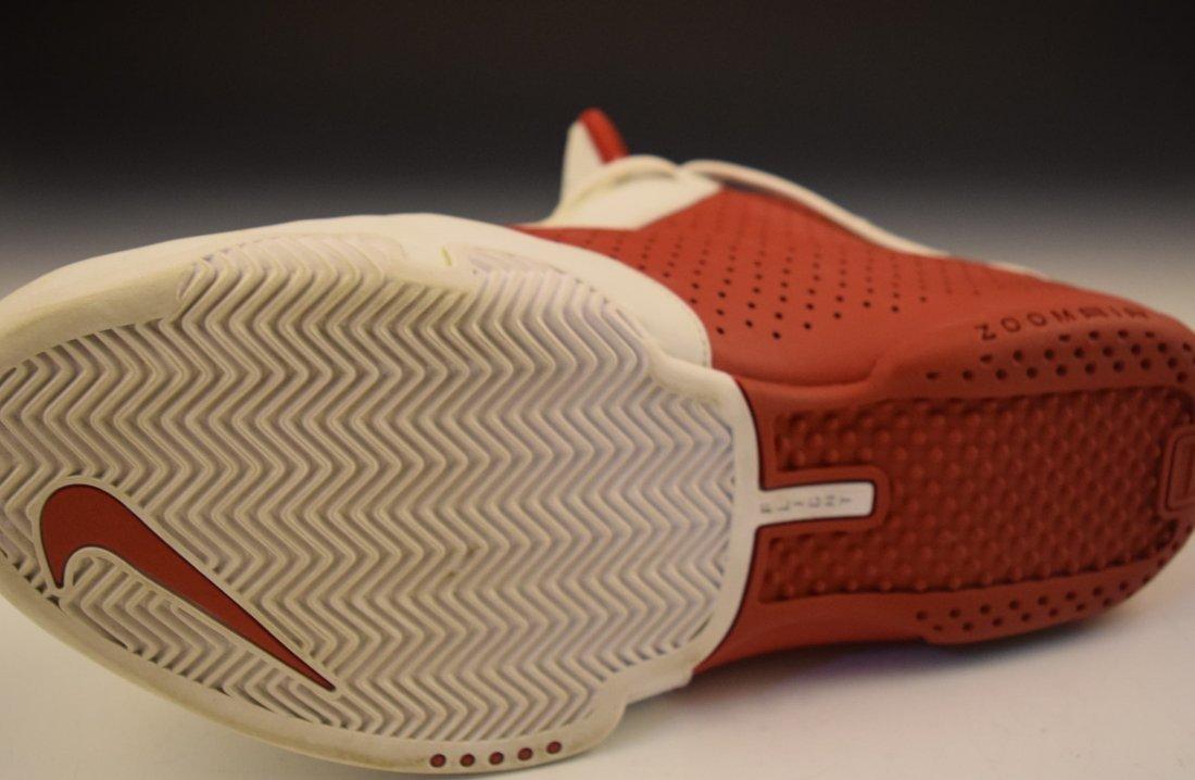 Scottie Pippen Signed Game Worn Shoe - 6